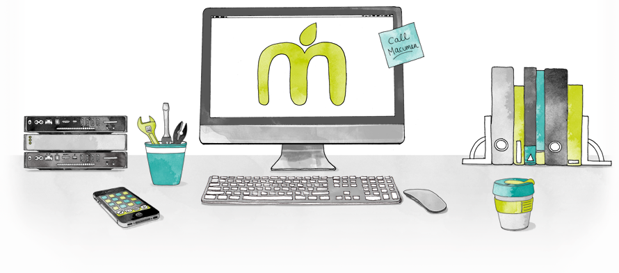 Macumen, FileMaker and Mac Service and Support